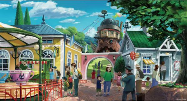 ジブリパークの構想2020年完成予定
