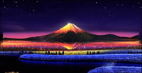 なばなの里2018年のメインテーマ「JAPAN 日本の情景」