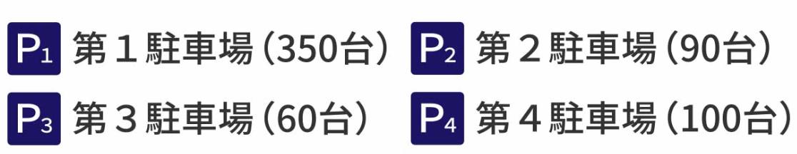 曽木公園の無料駐車場の場所