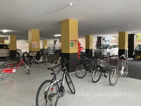 RAKU SPA GARDEN 名古屋の駐輪場・バイク置き場