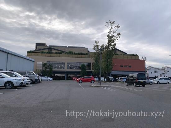 喜多の湯香流の駐車場