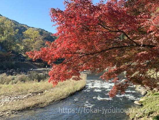 香嵐渓の紅葉2018