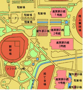 金沢産業会館へのバスでのアクセス