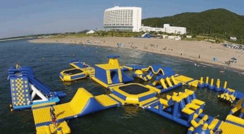 伊良湖シーパーク2019海上アスレチックのアスセス・料金・駐車場をまとめました!