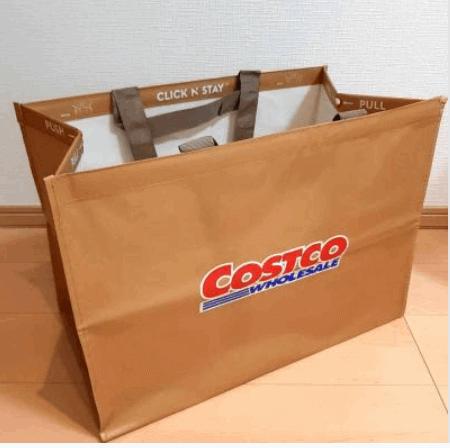 コストコのショッピングバッグを無料でもらう